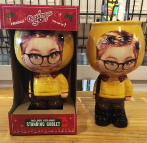 A Christmas Story Standing Ralphie Molded Goblet