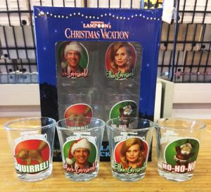 Christmas Vacation Shot Glass 4-Pack
