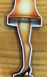A Christmas Story Leg Lamp Magnet