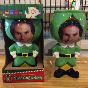 Elf Standing Molded Goblet