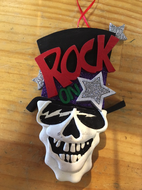 Rock On Ornament