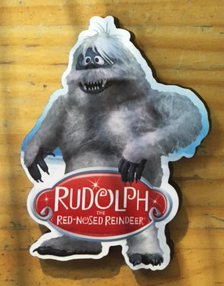 Rudolph Abominable Snowman Magnet