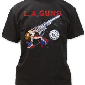LA Guns Cocked & Loaded t shirt