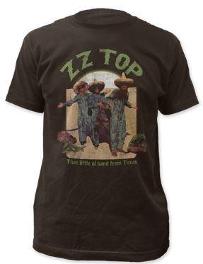 ZZ Top El Loco t shirt