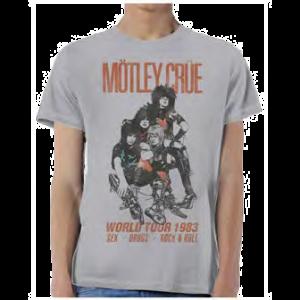 Motley Crue Vintage World Tour t shirt