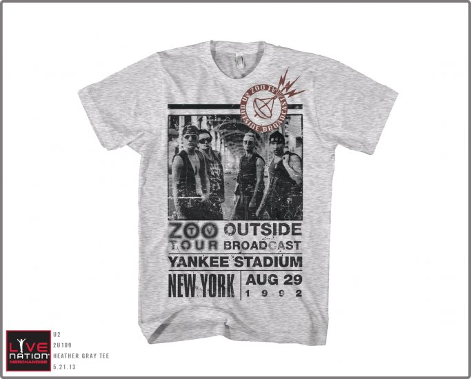 U2 Zoo Outside t shirt