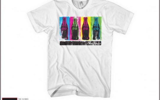 The Kinks Lola Cola t shirt