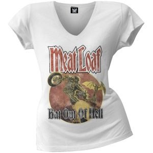 Meatloaf Bat Out Of Hell t shirt