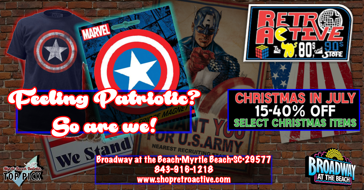 Captain America gear and July deal