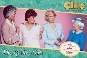 The Golden Girls Clue box
