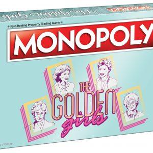 The Golden Girls Monopoly box