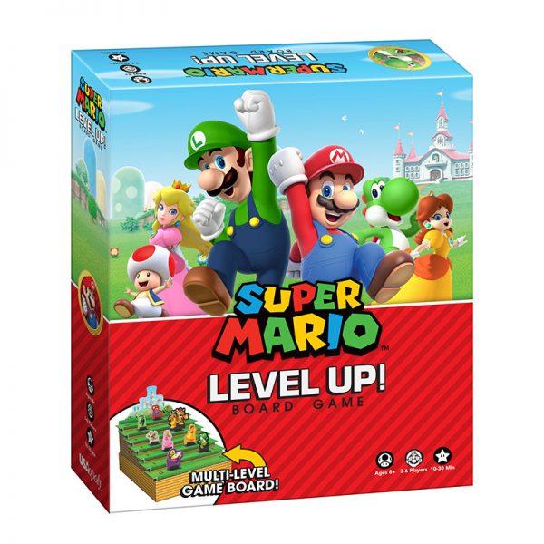 Super Mario Level Up! Board Game