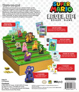 Super Mario Level Up! Board game instructions