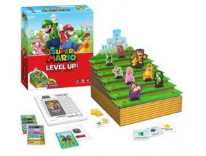 Super Mario Level Up! Board Game pieces