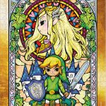 The Legend of Zelda Wind Waker Collector's Puzzle Series #2 completed