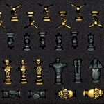Zelda Collectors Chess Heroes and Villains pieces