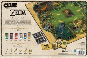Zelda Clue pieces instructions