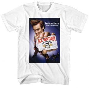 Ace Ventura Color Poster t shirt