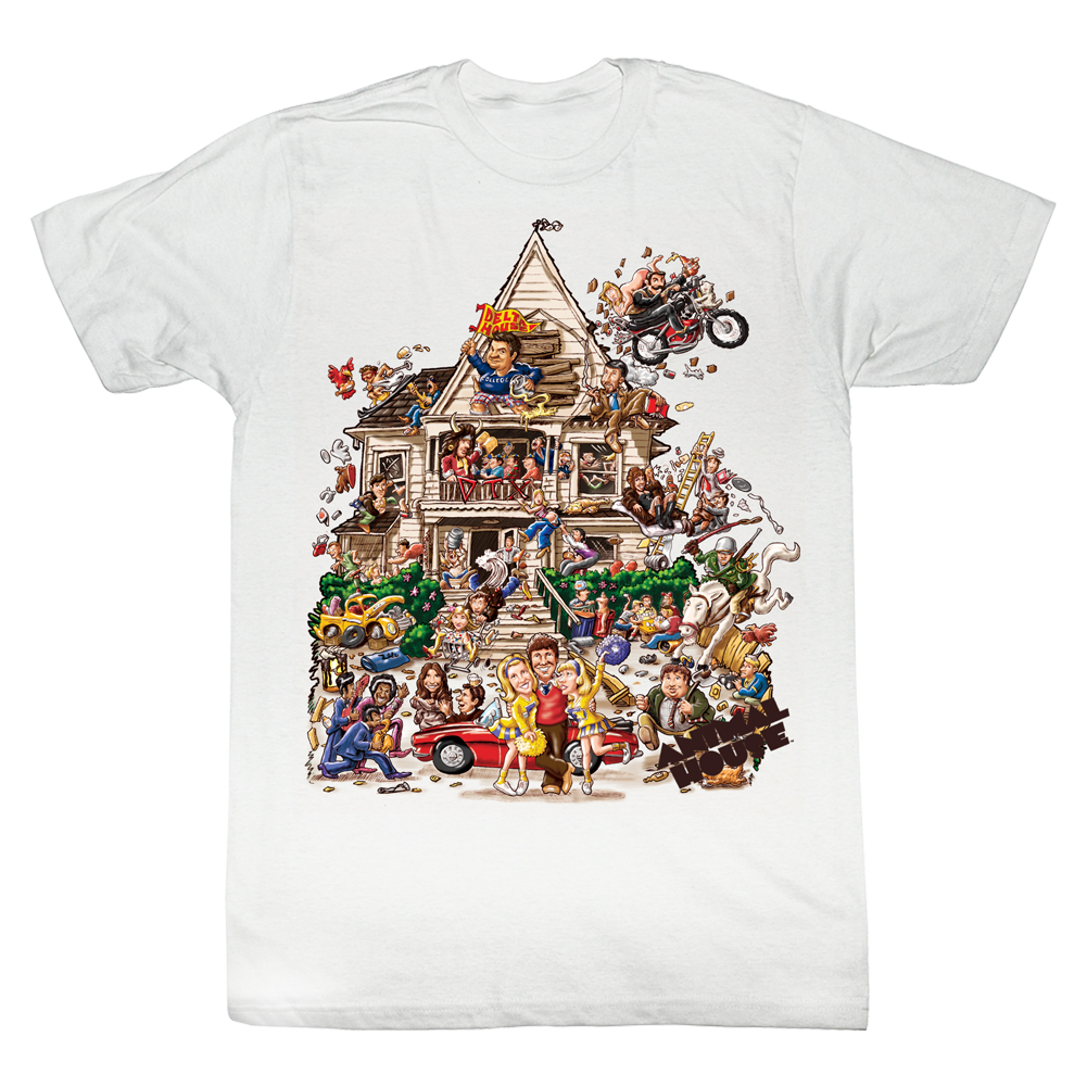 Animal House House White t shirt