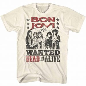 Bon Jovi Dead Or Alive t shirt