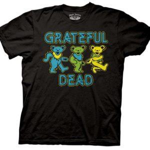 Grateful Dead 3 Dancing Bears t shirt