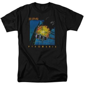 Def Leppard Pyromania t shirt