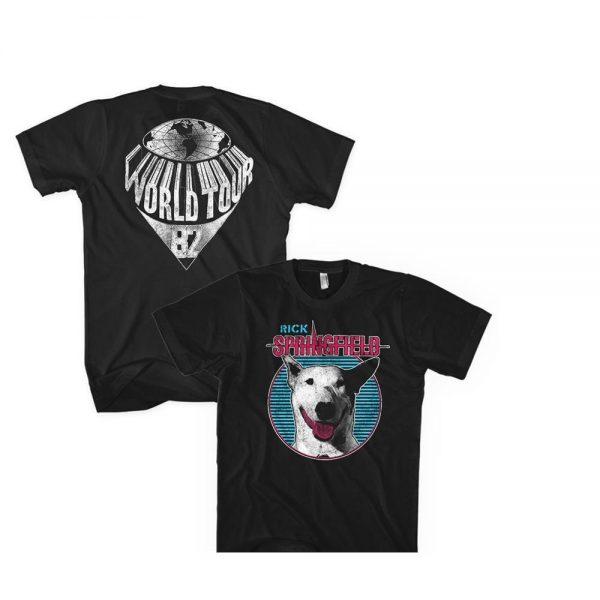 Rick Springfield Dog Circle t shirt