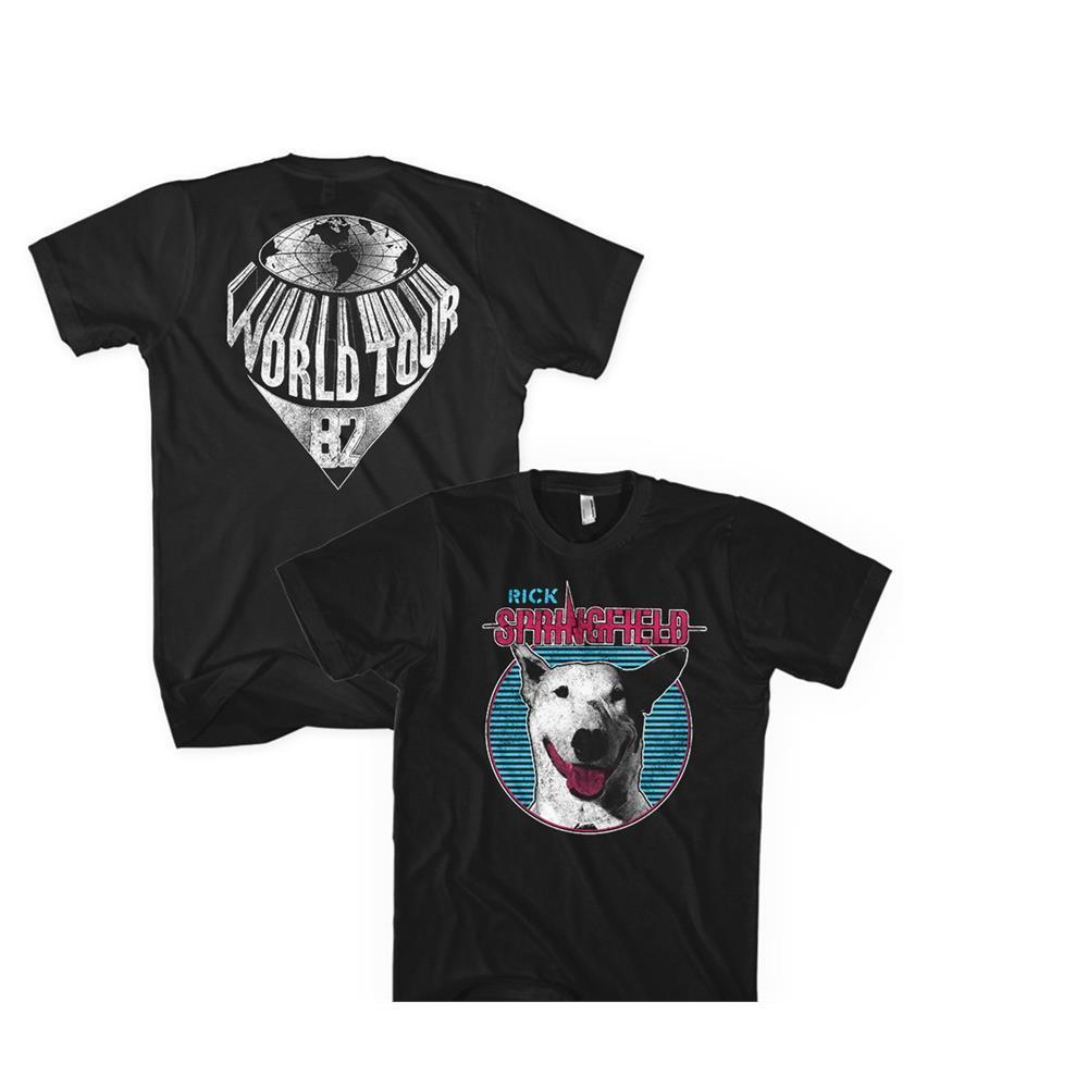 Rick Springfield Dog Circle t shirt