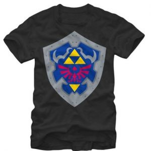 Legend of Zelda Hylian Shield t shirt