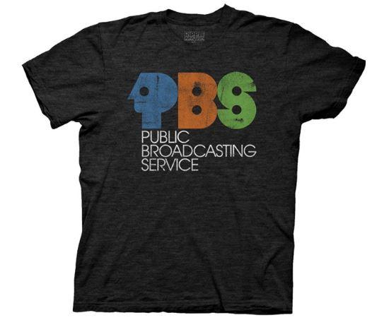 PBS Vintage Logo t shirt