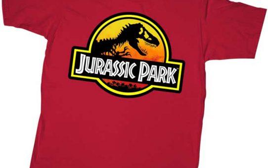 Jurassic Park logo youth t shirt