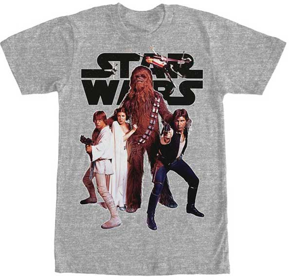 Star Wars Rebel Squad t shirt
