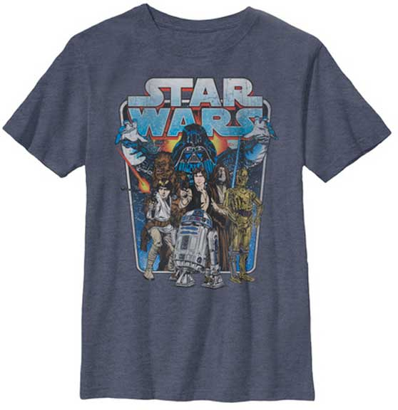 Star Wars Classic Battle Youth t shirt