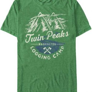 Twin Peaks Logging Camp t shirt