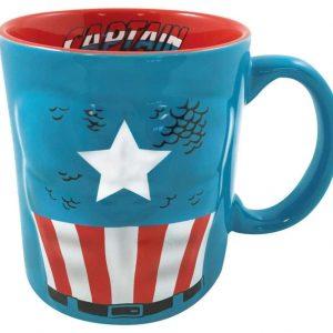 Captain America Molded Mug