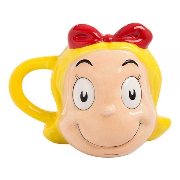 The Grinch Cindy Lou Sculpted Mug