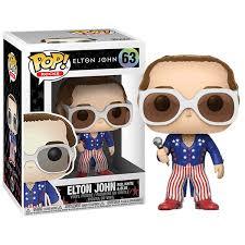 Elton John Red, White, and Blue Funko Pop Vinyl