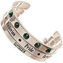 Harry Potter Slytherin 3pk Cuff Set Bracelets