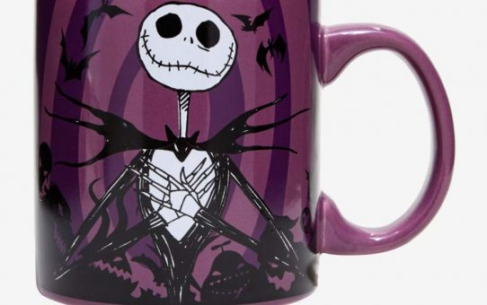 Nightmare Before Christmas Jack Hypno Swirl Mug