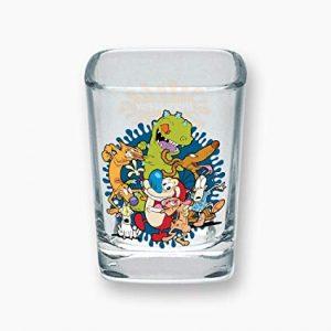 Nickelodeon Square Shot Glass