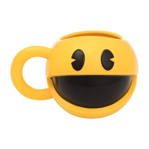 Pac Man Sculpted Mug
