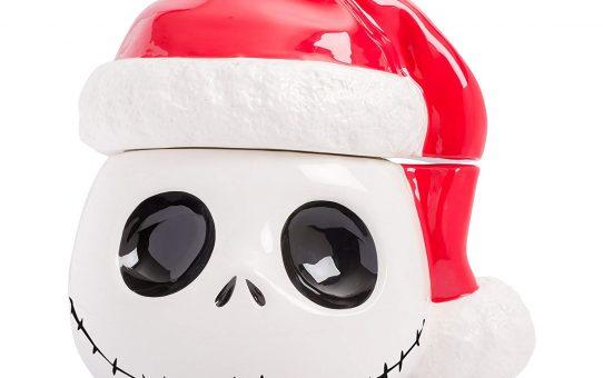 Nightmare Before Christmas Santa Jack Cookie Jar