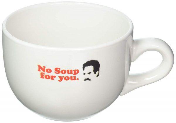 Seinfeld No Soup For You Soup Mug
