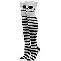 Nightmare Before Christmas Thigh High Socks