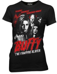 Buffy The Vampire Slayer juniors tee