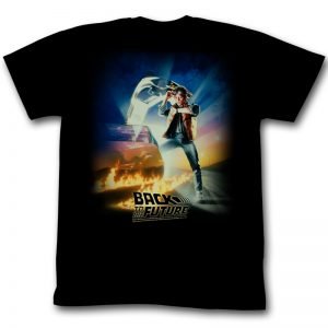 Back to the Future Poster tee