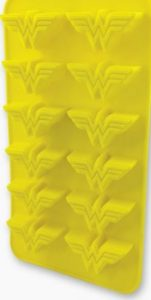 Wonder Woman Ice Cube Tray Open