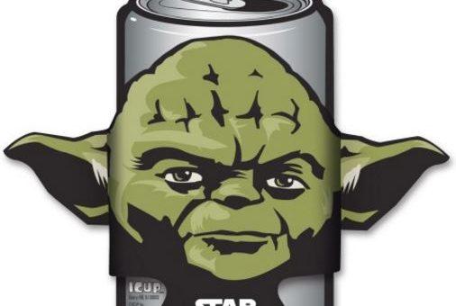 Start Wars Die Cut Yoda Coozie