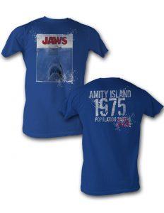 Jaws Amity Island 1975 tee