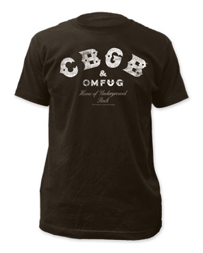CBGB Distressed Logo